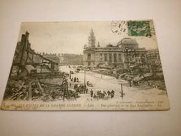 238/ LILLE LES RUINES DE LA GRANDE GUERRE VUE GENERALE DE LA RUE FAIDHERBE - Lille