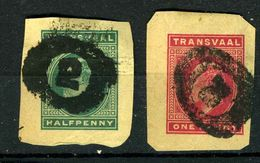 Transval Découpes D'entiers - Transvaal (1870-1909)
