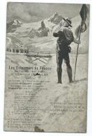 """CPA CHANT CHANSON LES ECLAIREURS DE FRANCE SUR L'AIR DES """" BAT D'AF """" PAR TOUSSAINT GUGLIELMI, SCOUT, SCOUTS, SCOUTISME - Scoutisme"""