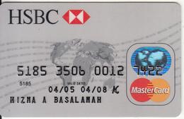 INDONESIA - HSBC Bank, Master Card, Used - Geldkarten (Ablauf Min. 10 Jahre)
