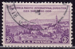 United States, 1935, San Diego Exposition, 3c, Sc#773, Used - Vereinigte Staaten