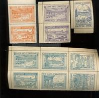 1913  EXPO De GENT  Jolies Vignettes Avec Gomme - Belgien