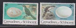 ST VINCENT GRENADINES Scott # 133-4 MNH - Birds & Eggs - St.Vincent & Grenadines