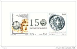 2012 Italy / Italien - 150 Years Of Italian Lira / Coins - MS MNH** Mi B 68 - 1946-.. République