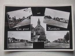 M40 Ansichtkaart Groeten Uit Kornhorn - 1965 - Niederlande