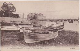CARTE POSTALE ANCIENNE,TOULON EST EN 1900,VAR,FORT SAINT LOUIS CONSTRUIT AU 17 EME,FORT DES VIGNETTES,PORT,LE MOURILLON - Toulon
