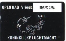 Telefoonkaart  LANDIS&GYR  NEDERLAND * RDZ.222  328A * Open Dag Vliegbasis Leeuwarden  * TK * ONGEBRUIKT * MINT - Nederland