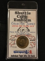 SHUTTLE CREW EMBLEM - Collection Series / Bronze - DISCOVERY 1993 - Elongated Coins
