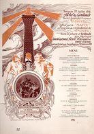 29 FINISTERE ST SAINT GUENOLE PHARE ECKMUHL KERITY PORS GARN SAINT PIERRE MARINS SAUVETEURS SAUVETAGE FAUZE ILLUSTRATEUR - Menus