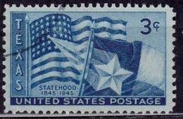 United States, 1945, Texas Statehood, 3c, Sc#938, Used - Etats-Unis