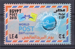 Egypt 2013 ( World Post Day ) - MNH (**) - Nuovi