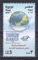 Egypt 2013 ( Tourism & Water ) - MNH (**) - Nuovi