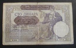 Serbia 1941 100 Dinara - Serbia