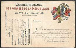 CM 164  Correspondance Militaire Du 7-02-16 Cachet Trésor Et Postes Double Cercle N°(SP)148 82ème Division D'Infanterie - Marcofilie (Brieven)