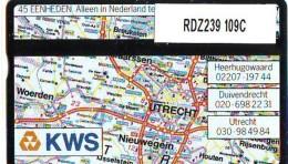 Telefoonkaart  LANDIS&GYR  NEDERLAND * RDZ.239  109C * KWS * TK * ONGEBRUIKT * MINT - Netherlands
