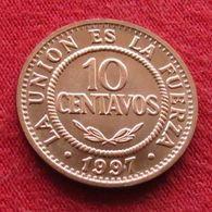 Bolivia 10 Centavos 1997  Bolivie UNCºº - Bolivia