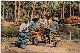 CPA Tahiti Océanie Polynésie Française Non Circulé Danse - Polynésie Française