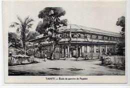 CPA Tahiti Océanie Polynésie Française Non Circulé école PAPEETE - Polynésie Française