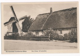 Nordseebad Cuxhaven - Döse, Die Döser Windmühle, ± 1930 - Cuxhaven