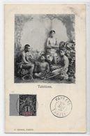 CPA Tahiti Océanie Polynésie Française Timbré Circulé  Dos Non Séparé - Polynésie Française