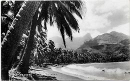CPSM Tahiti Océanie Polynésie Française Circulé PAPEETE - Polynésie Française