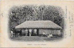 CPA Tahiti Océanie Polynésie Française Circulé - Polynésie Française