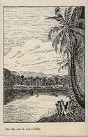 CPA Tahiti Océanie Polynésie Française écrite Iles Sous Le Vent - Polynésie Française