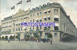 91804 DENMARK KOBENHAVN COPENHAGEN HOTEL ANGLETERRE POSTAL POSTCARD - Danemark