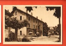 GBQ-23  Challonges, Café-Pension Eugène Bidot, Près Génissiat Et Seyssel Avec Au Dos La Note D'hôtel (non Rempli). - Other Municipalities