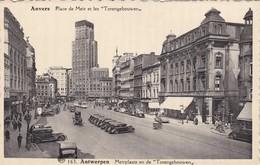 CARTOLINA - POSTCARD - BELGIO - ANVERS - ANTWERPEN - MERIPLAATS EN DE TORENGEBOUWEN - Antwerpen