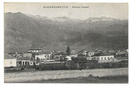 SYRIE - ALEXANDRETTE - Partie Ouest - Syrie