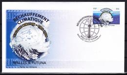 Wallis Et Futuna 2017 Réchauffement Climatique Climate Global Warming Hurricane Winston Fidji FDC Luxe - Covers & Documents