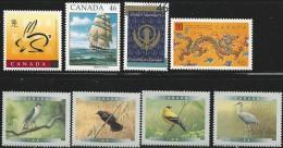 CANADA 1999 SCOTT/UNITRADE 1767,1770-1773,1779,1786,1836 - 1952-.... Elizabeth II