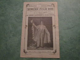 Comment L'on Devient SORCIER POUR RIRE Par Le Professeur OKATI (8 Pages) - Théatre & Déguisements