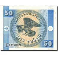 Billet, KYRGYZSTAN, 50 Tyiyn, 1993, Undated (1993), KM:3, SUP - Kyrgyzstan