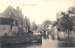 ***  BRUGES  Le Quai Vert   Neuve  Excellent état - Brugge