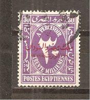 Egipto - Egypt. Nº Yvert  Tasa 44 (usado) (o) - Egypt