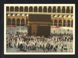 Saudi Arabia Picture Postcard Holy Mosque Ka'aba Mecca Makkah Islamic View Card - Saudi Arabia