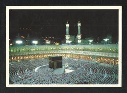 Saudi Arabia Picture Postcard Holy Mosque Ka'aba Mecca Makkah Islamic View Card - Arabie Saoudite