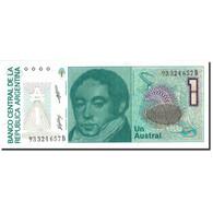 Billet, Argentine, 1 Austral, 1985-1991, Undated (1985-1989), KM:323b, NEUF - Argentine