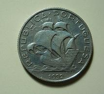Portugal 2 1/2 Escudos 1932 Silver - Portugal