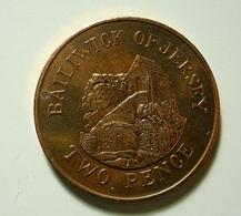 Jersey 2 Pence 1990 - Jersey