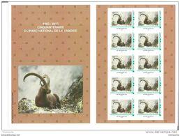 50 Ans Du Parc National De La Vanoise, Bouquetin, 1er Collector De 10 Timbramoi - Environment & Climate Protection