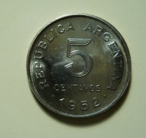 Argentina 5 Centavos 1952 - Argentina