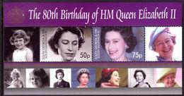 South Georgia 2006 Queens Birthday Souvenir Sheet Unmounted Mint. - South Georgia