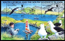 South Georgia 2006 Save The Albatross Souvenir Sheet Unmounted Mint. - South Georgia