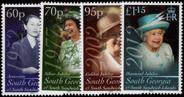 South Georgia 2012 Diamond Jubilee Unmounted Mint. - South Georgia