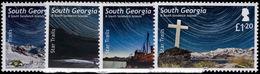 South Georgia 2013 Star Trails Unmounted Mint. - South Georgia
