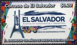 Salvador 2017 ** 196 Años De Independencia. Avanza Convivencia Y Desarrollo. - El Salvador