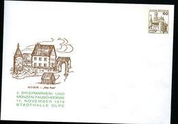 Bund PU114 D2/014a Privat-Umschlag ALT-OLPE Alte Post Olpe 1979 - Post